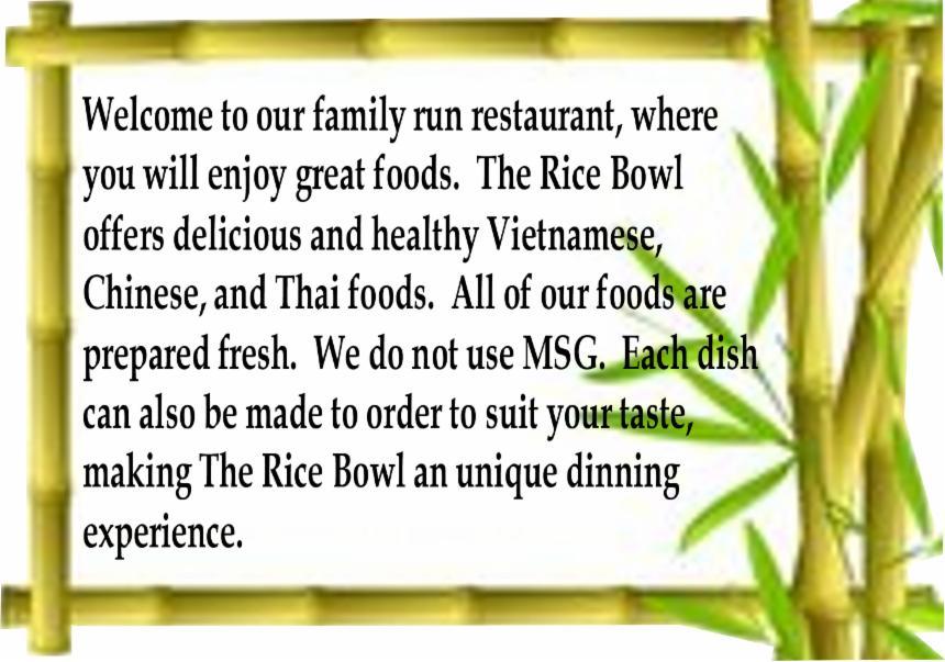 Restaurant Menu Introduction